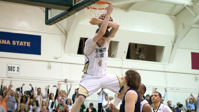BIG SKY TOURNAMENT BOUND! MEN'S HOOPS THROTTLES MONTANA STATE, 84-59
