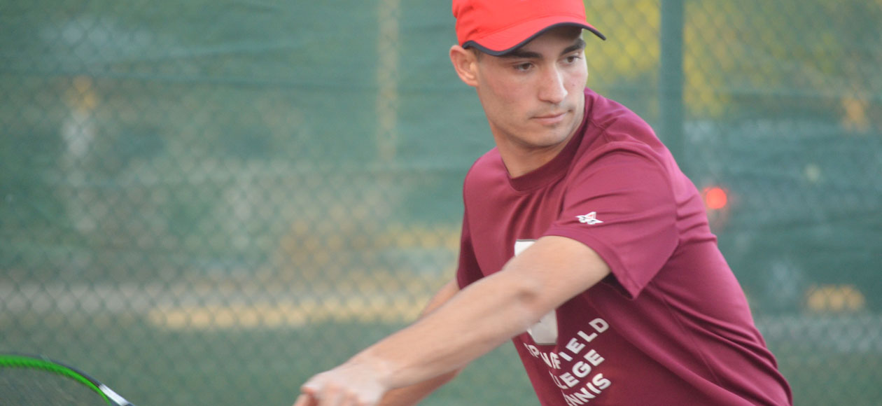 Men's Tennis Opens Spring Break With 8-1 Victory Against Roger Williams
