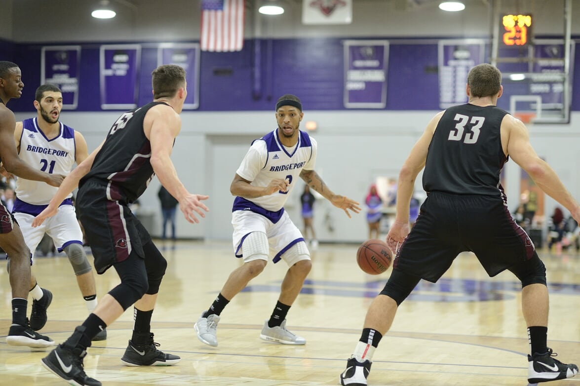 UB Men Struggle On Offense As Purple Knights Fall In ECC Action At Molloy, 78-69