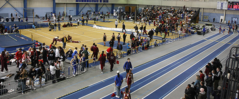 Women's Track Finishes 3rd at CAC Championships