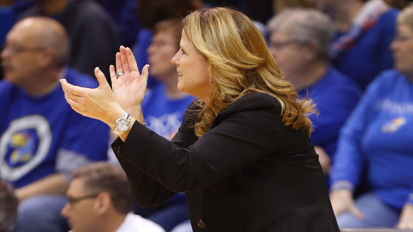 Bonnie Henrickson (Kansas Athletics Communications)