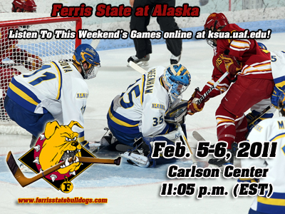 Ferris State Hockey Visits Alaska This Weekend