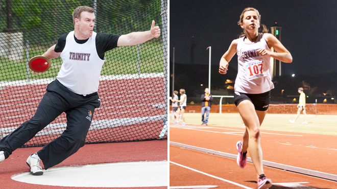 Trinity's Campbell and Murphy Earn All-Academic Track & Field Honors