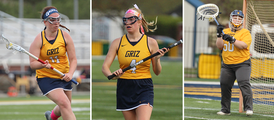 Grizzly Trio Picks Up All-HCLC Honors
