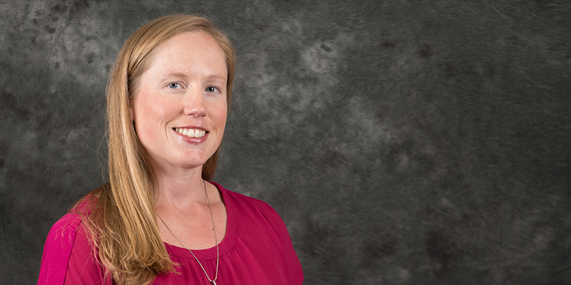 Associate Athletics Director and Senior Woman Administrator Leslie Shevlin