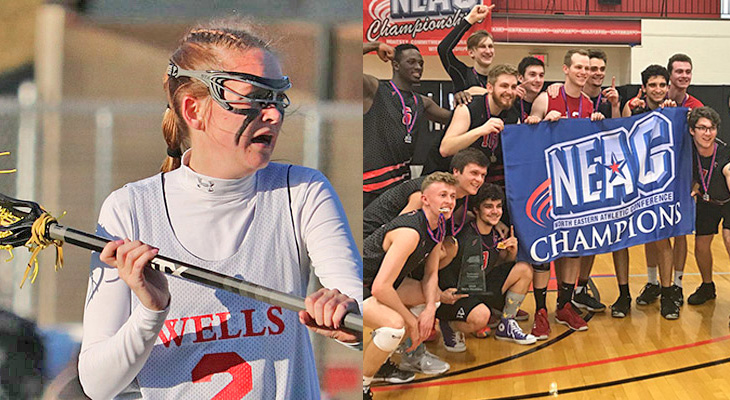 "Men's Volleyball & Women's Lacrosse: ""On This Day"" 4-14-19"