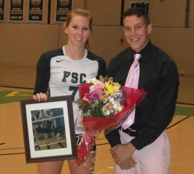Sahner Honored as Rams Defeat Old Westbury on Senior Night