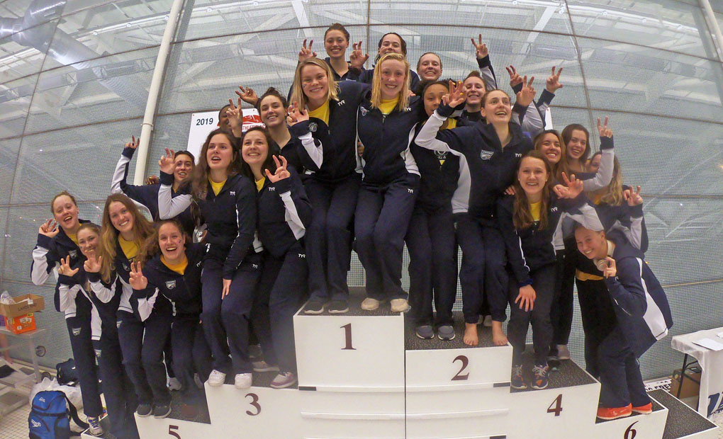 Women's Swimming & Diving Wins 21st Consecutive & 27th Overall UAA Title