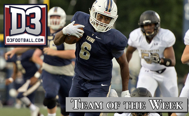 Carswell Selected to D3football.com National Team of the Week