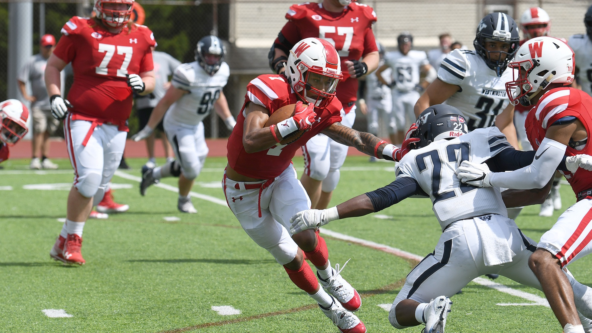 #14 Wittenberg Washes Away Westminster In Home Opener