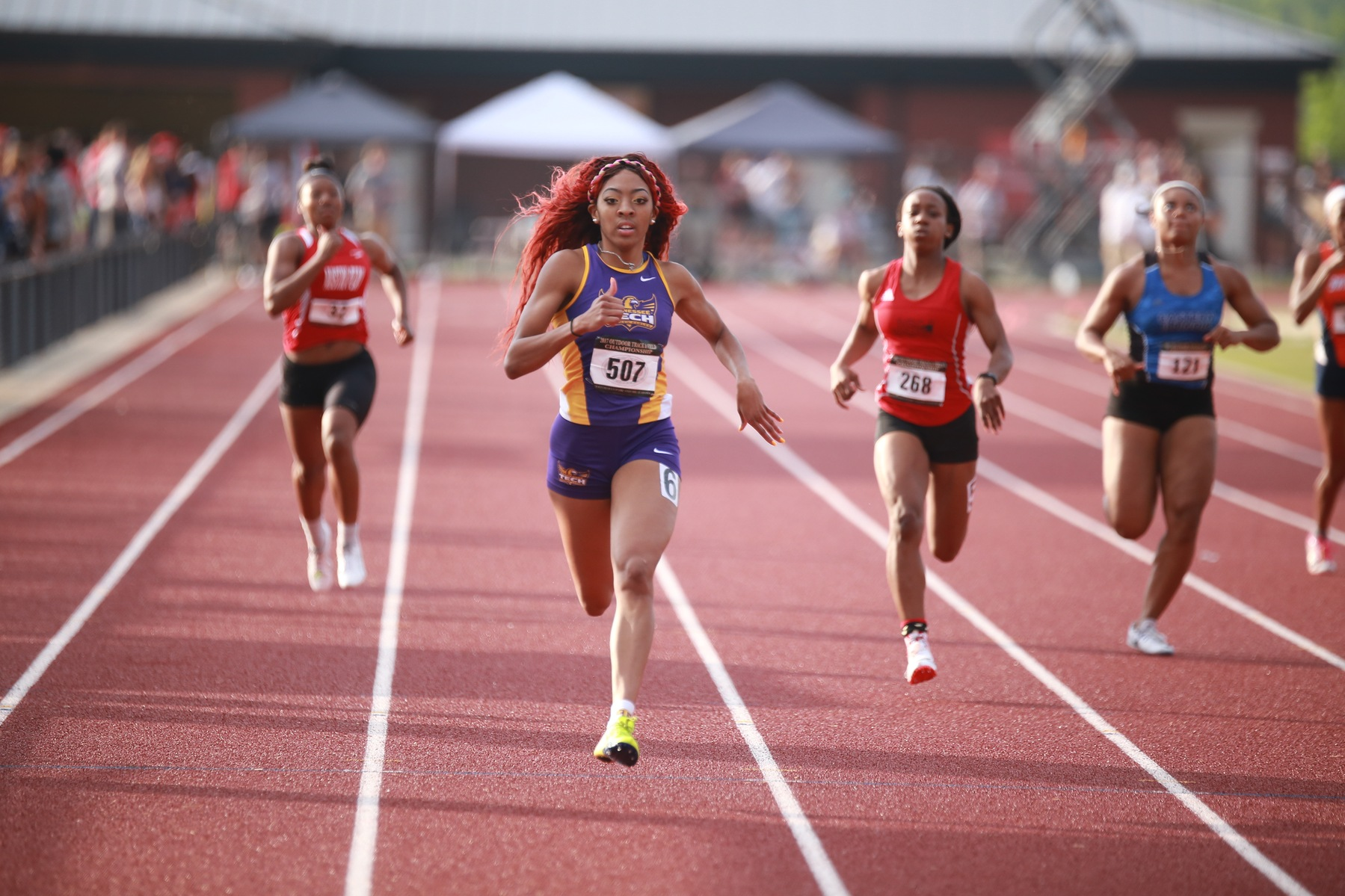 Tech rises to eighth in USTFCCCA South Region rankings