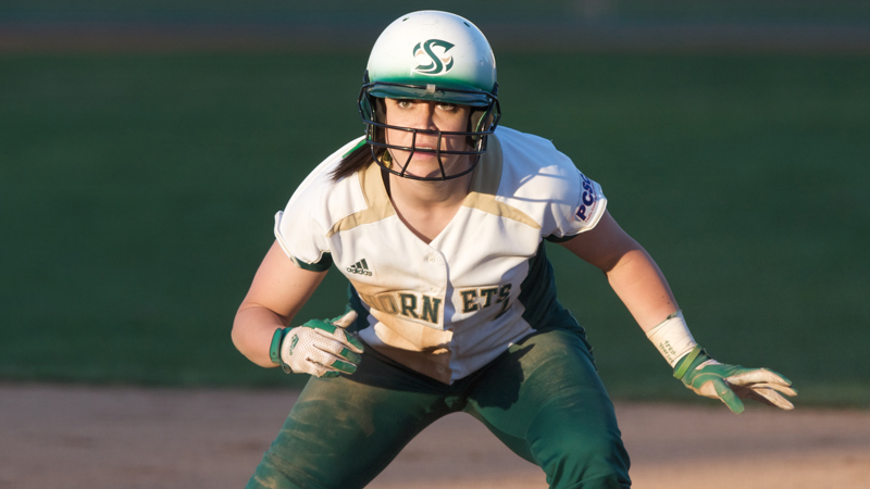 THREE-RUN SEVENTH INNING PROPELS SOFTBALL TO 4-3 WIN AT SANTA CLARA
