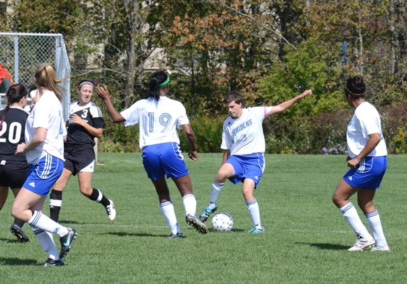 Lady Raiders defeated in soccer match with #1 Broome CC
