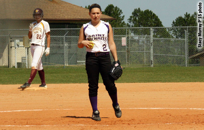 Softball swept by 24th-ranked Southern New Hampshire