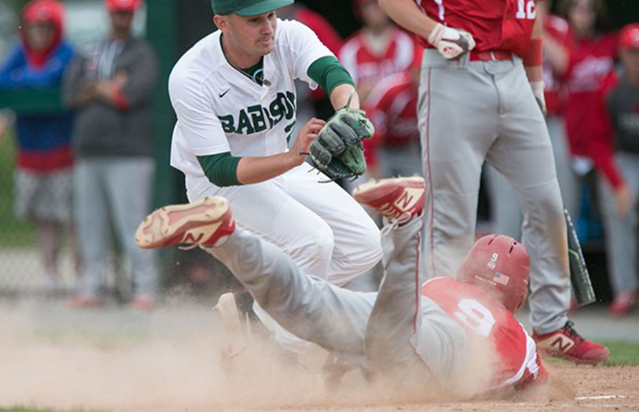 Cortland Nipped at Babson, 7-6, in Game 1 of NCAA Super Regional
