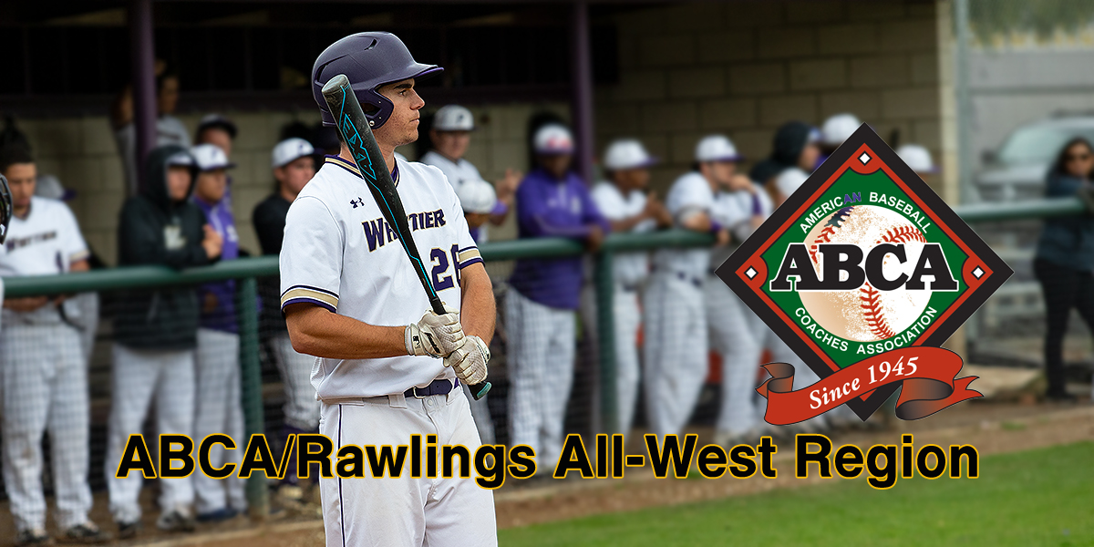 Dane Goodman named ABCA/Rawlings Div. III All-West Region
