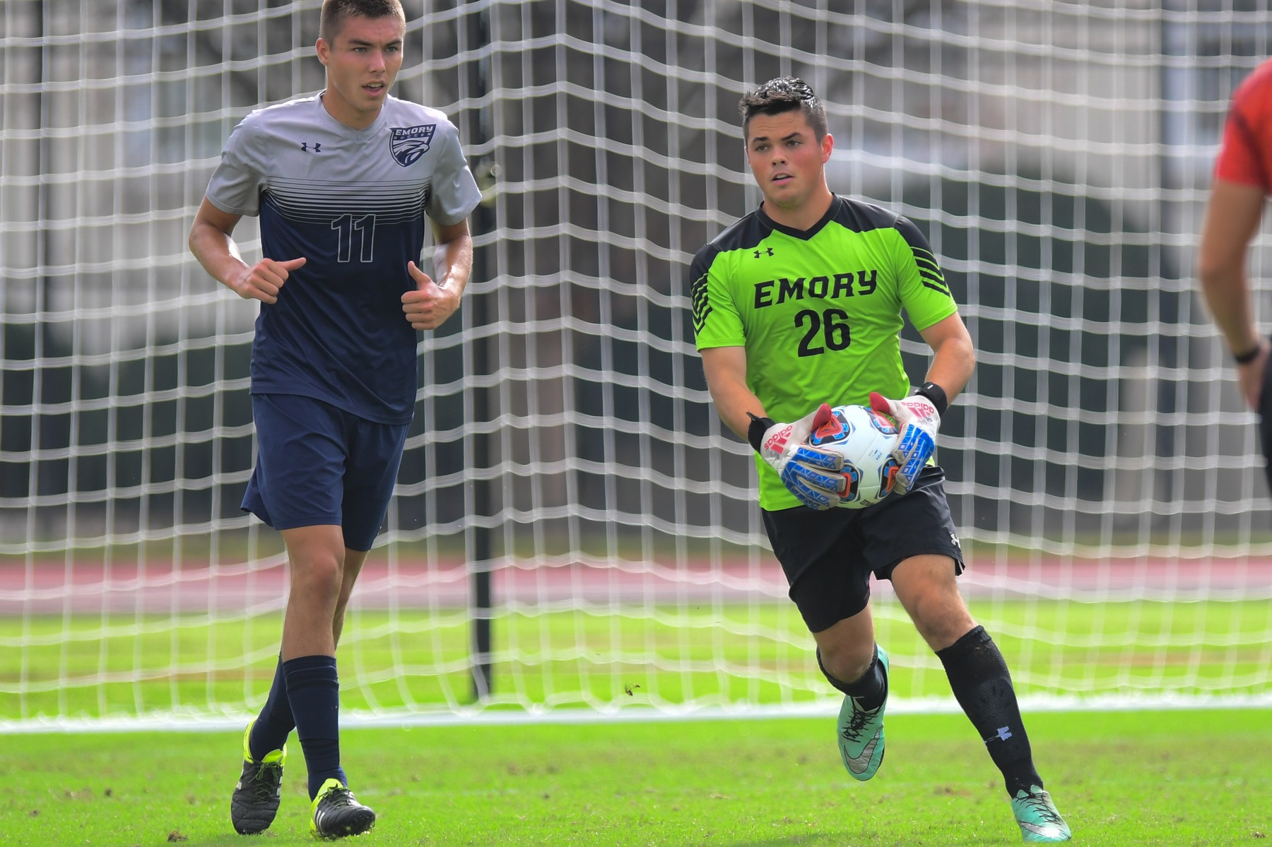 Emory Men's Soccer Rallies for 2-2 Draw at Carnegie Mellon