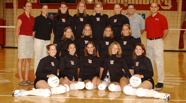 2004 Wittenberg Volleyball