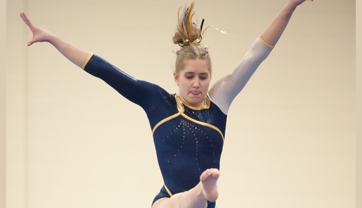Gymnasts Open Season at Central Michigan Quad Meet
