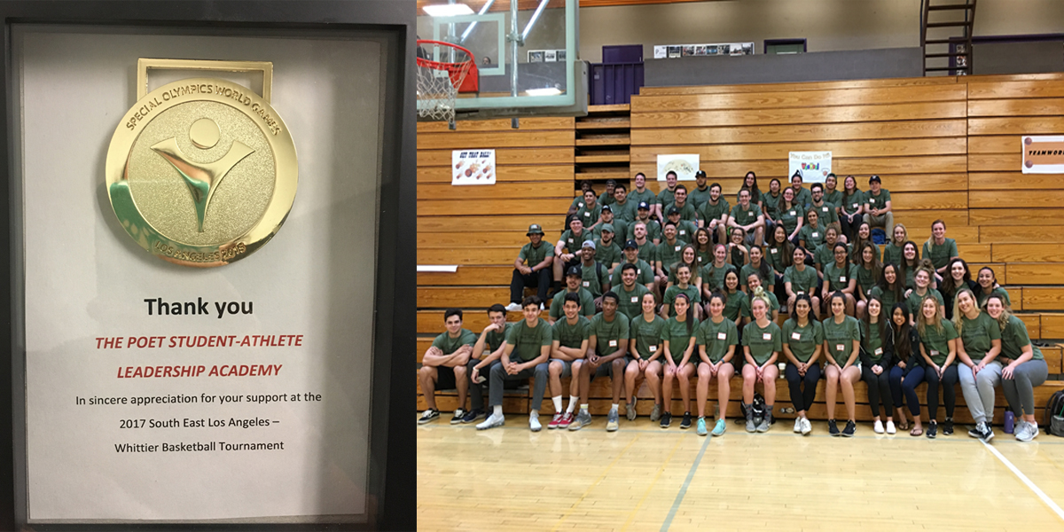 Whittier hosts Special Olympics Basketball Tournament for Greater Los Angeles