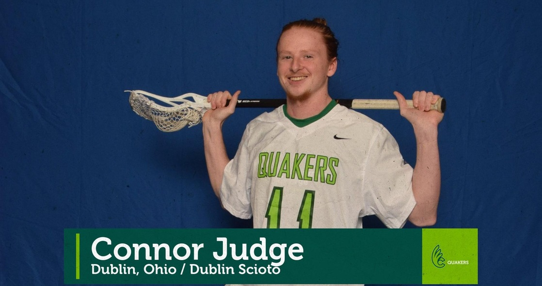 Spring Senior Salute - Men's Lacrosse's Connor Judge