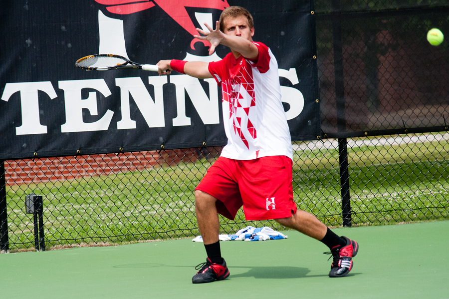 Huntingdon men's tennis closes out conference play with shutout