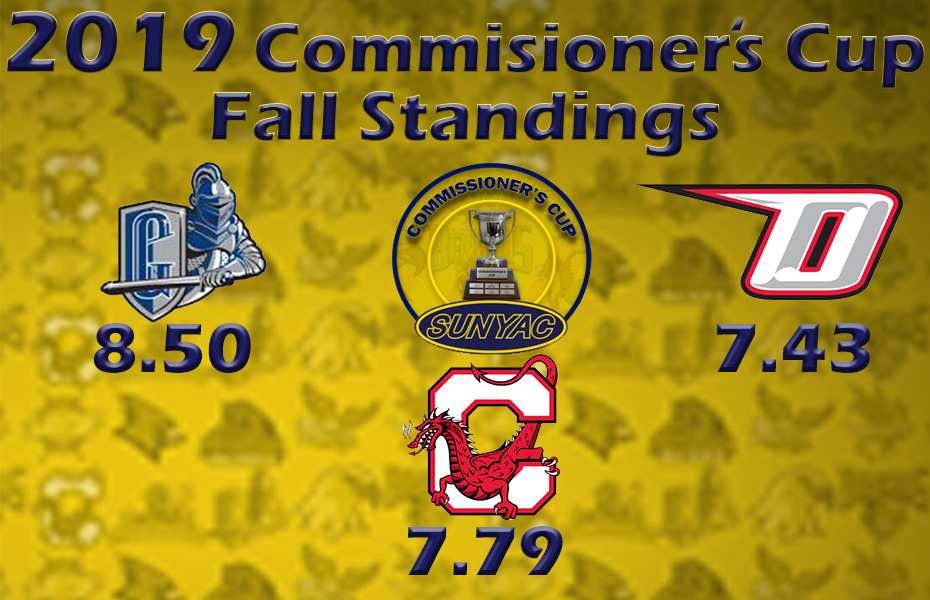 2019 Commissioner's Cup Fall Standings Announced
