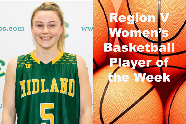 Region V Women's Basketball Player of the Week (Dec. 11)
