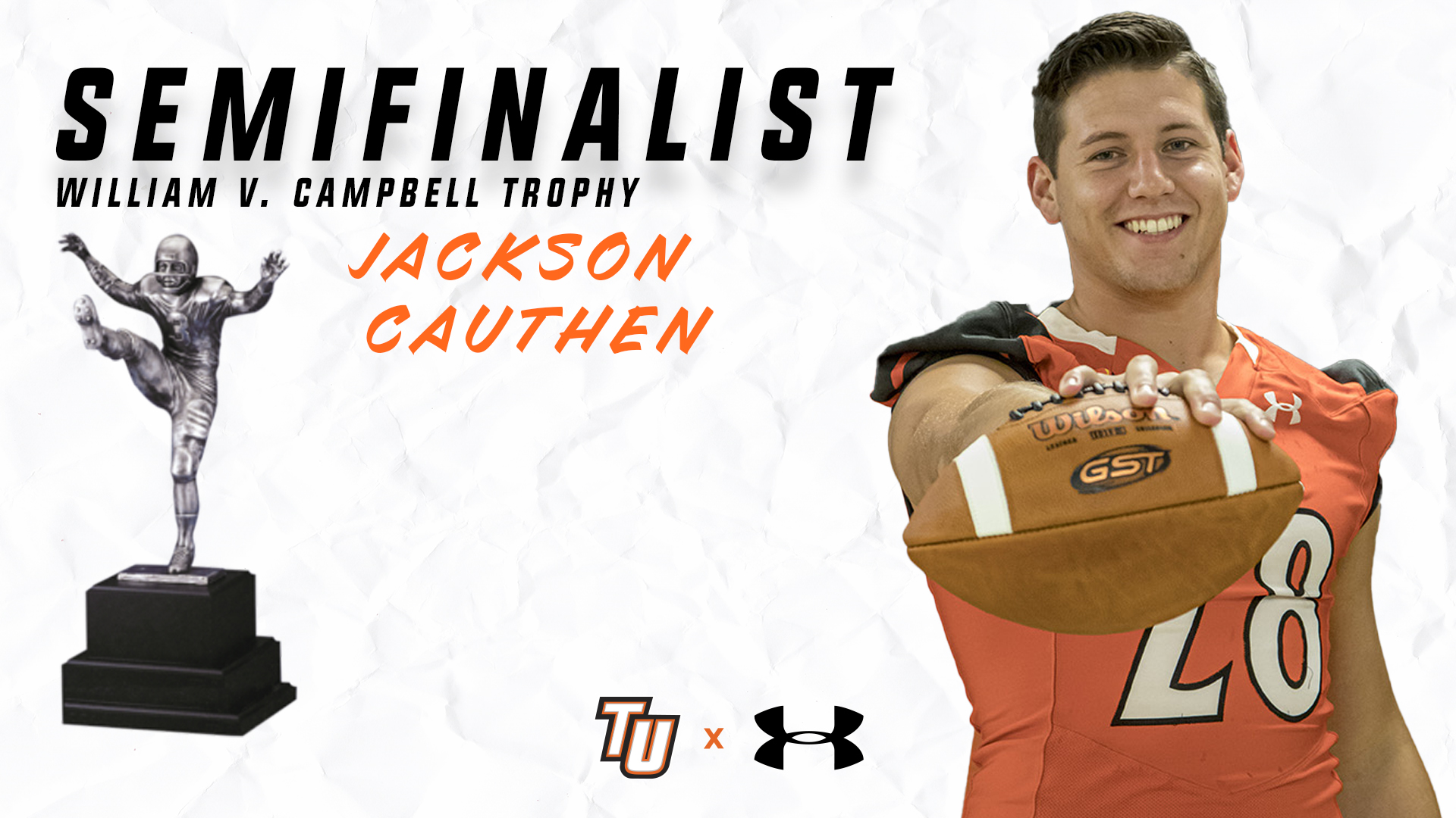 Cauthen named semifinalist for Campbell Trophy