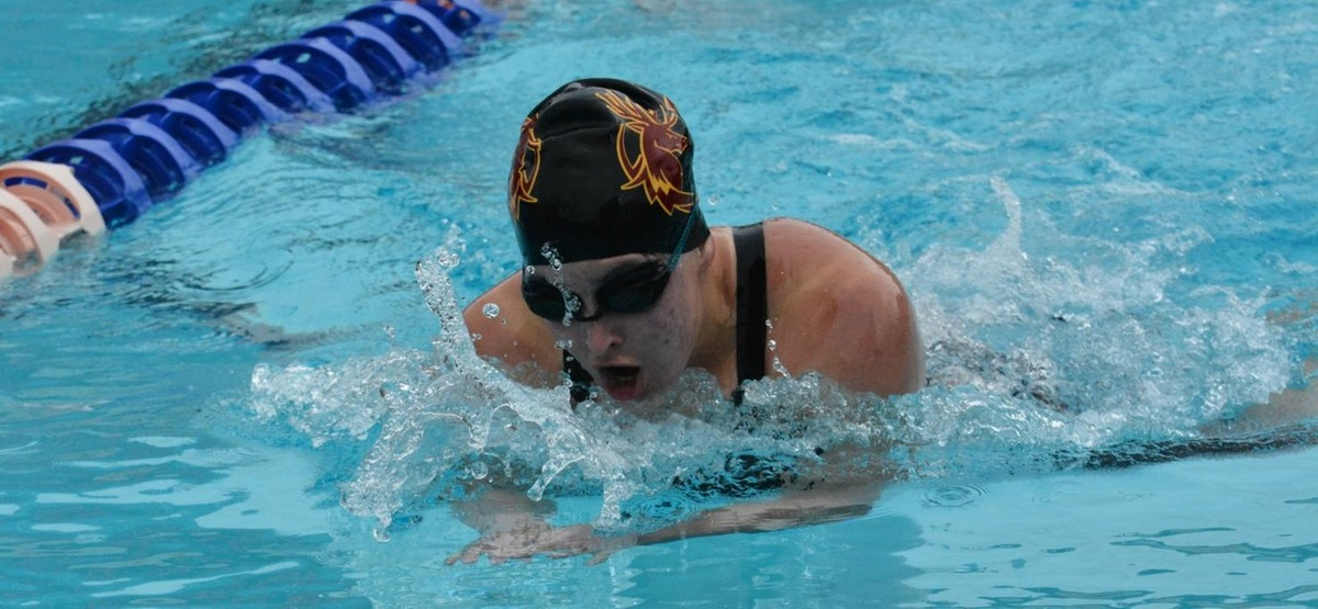 Rachel Wander swept both breaststroke events to help CMS to the win.