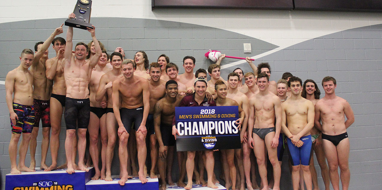 Trinity Men Win Seventh Straight SCAC Men's Swimming & Diving Title