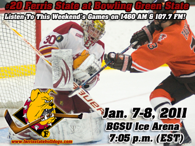 #20th Ranked Ferris State Skates At Bowling Green State This Weekend