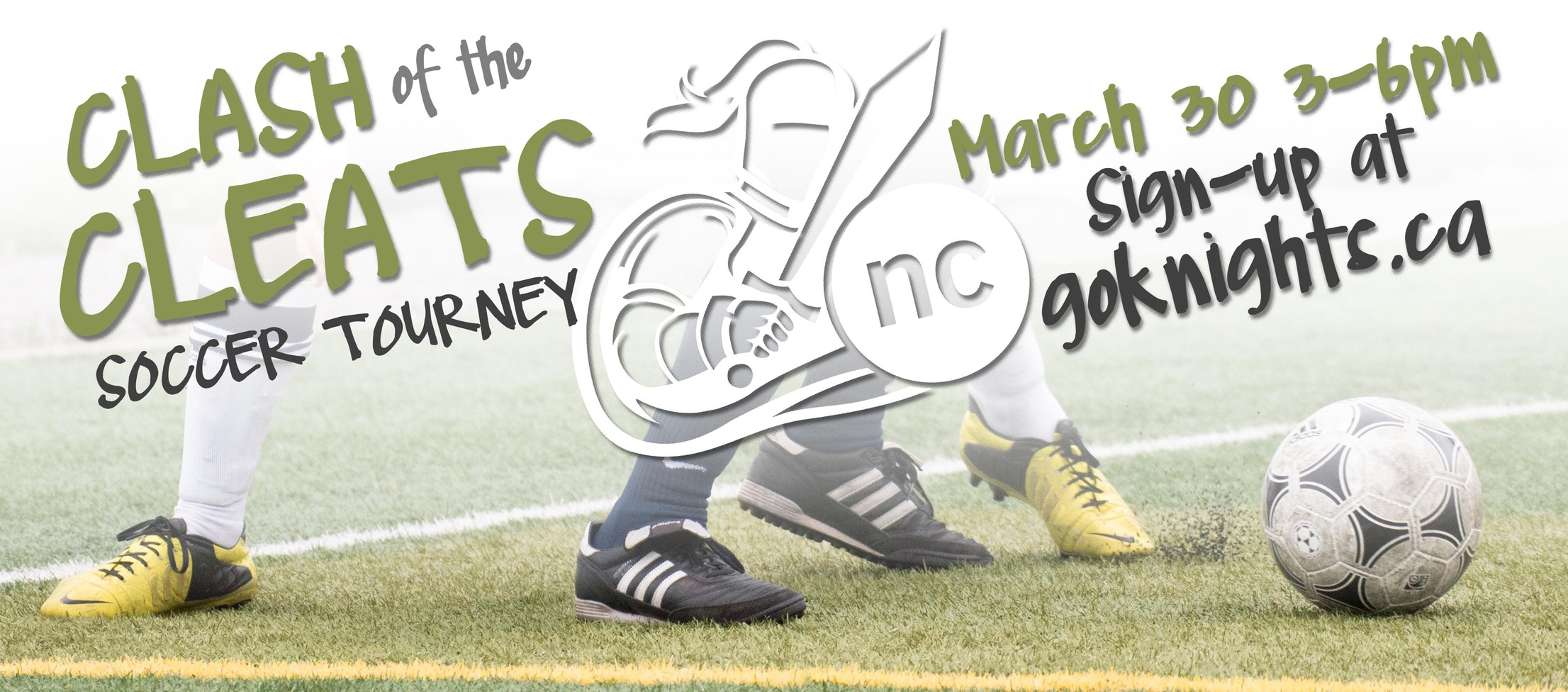 SIGN-UP for the Clash of the Cleats