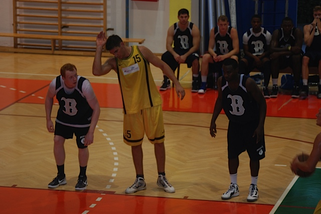 John Saucier '08 recaps game one of the Croatia trip vs KK Kastela