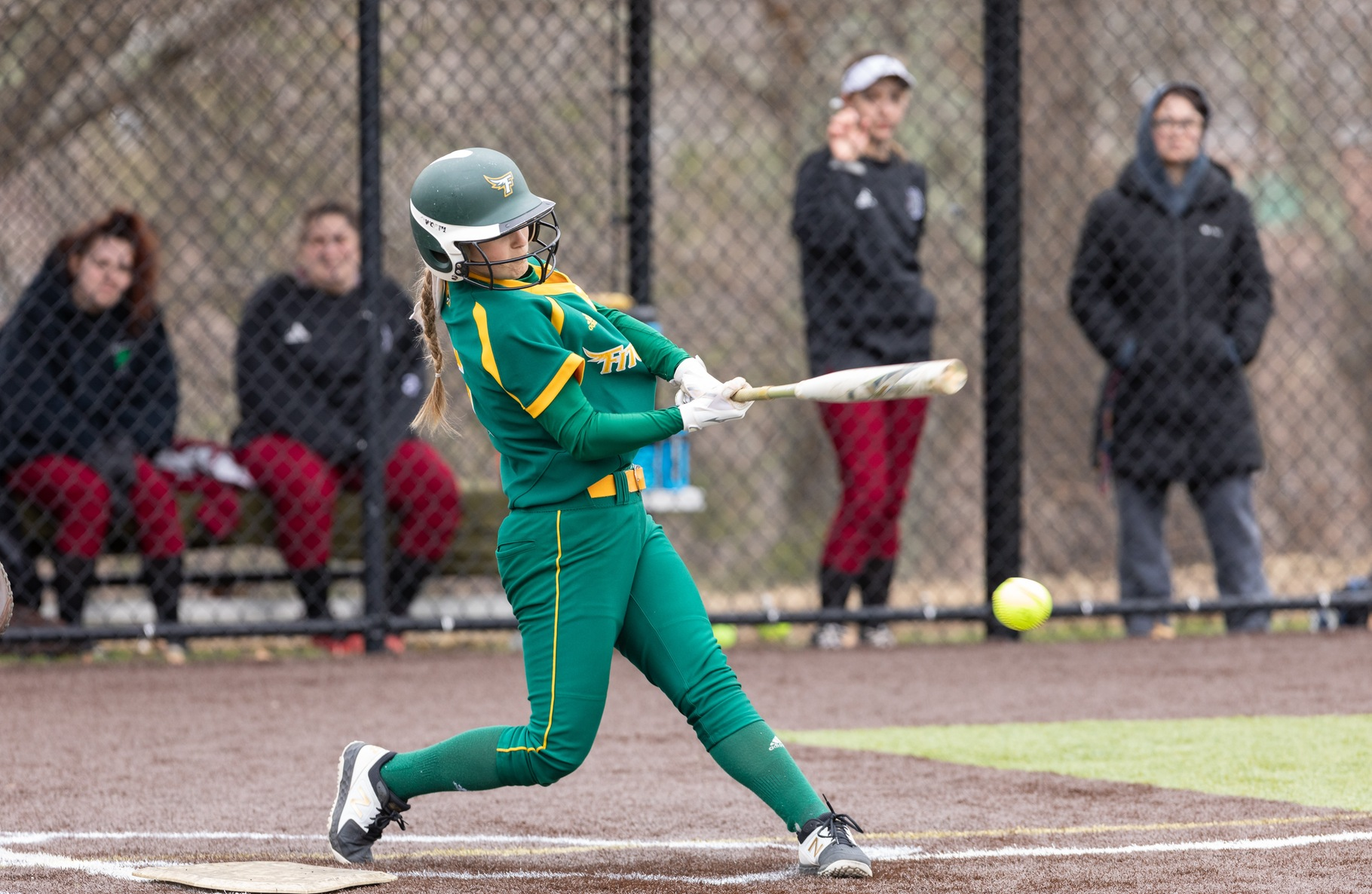 #4 Fitchburg State Edged By Top Seeded Bears, 2-0