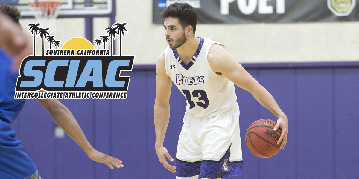 Conner Longmire named SCIAC Athlete of the Week