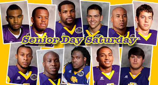 Golden Eagles celebrate Senior Day as No. 4 JSU visits Saturday