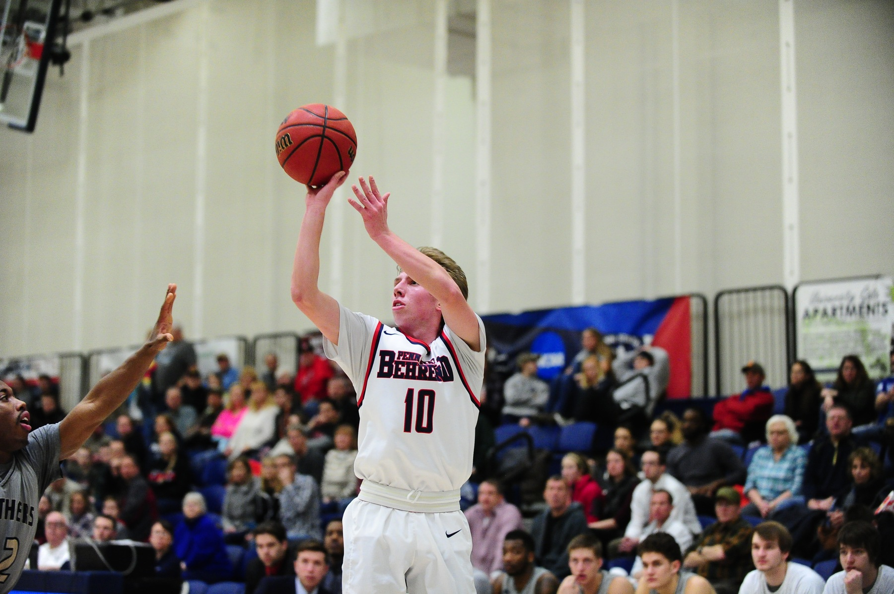 Late Three From Niland Helps Behrend Defeat SUNY Canton; Advance to ECAC Semifinals