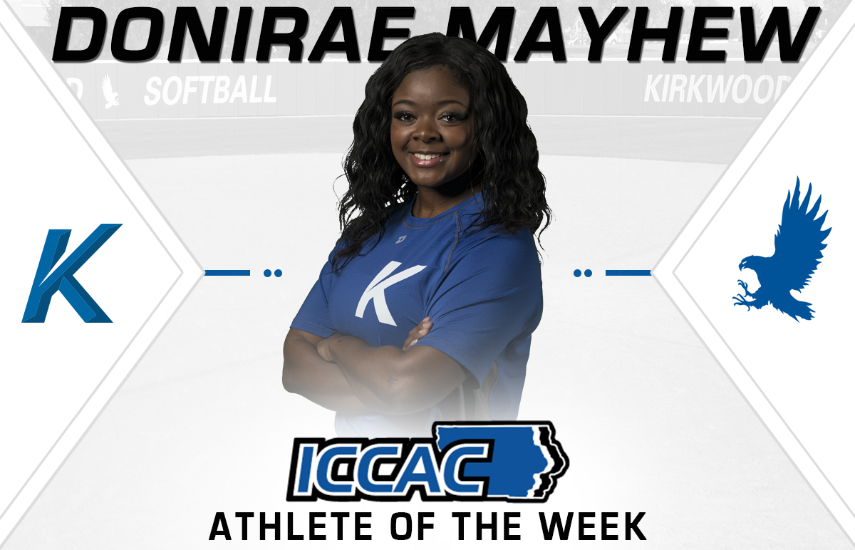 Mayhew Earns Second ICCAC Athlete of the Week