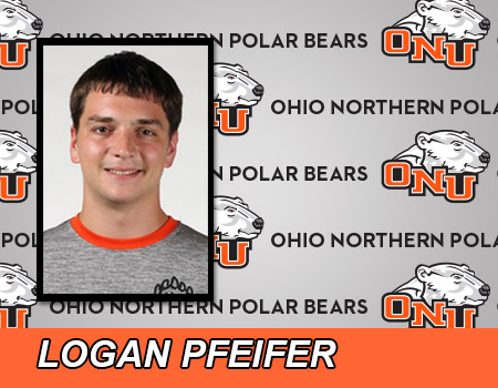Logan Pfeifer leads Men's Swimming & Diving on first day of 2017 OAC Championships