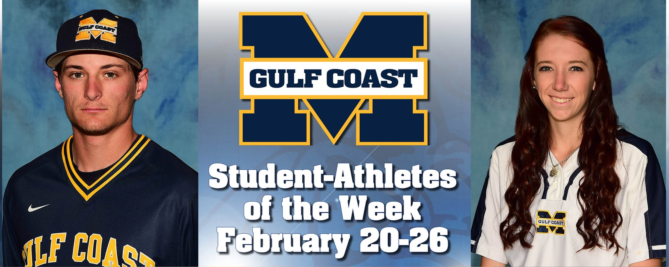 Sexton, Rhodes named MGCCC Student-Athletes of the Week