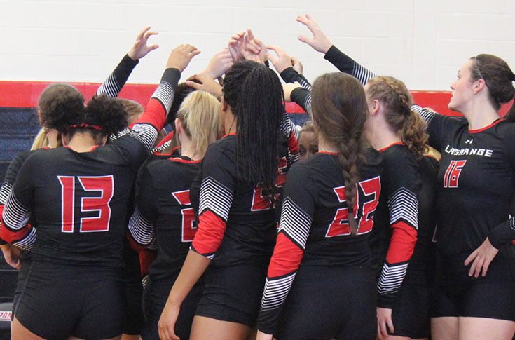 Volleyball: Panthers defeat Piedmont for first time since 2005 to even USA South record