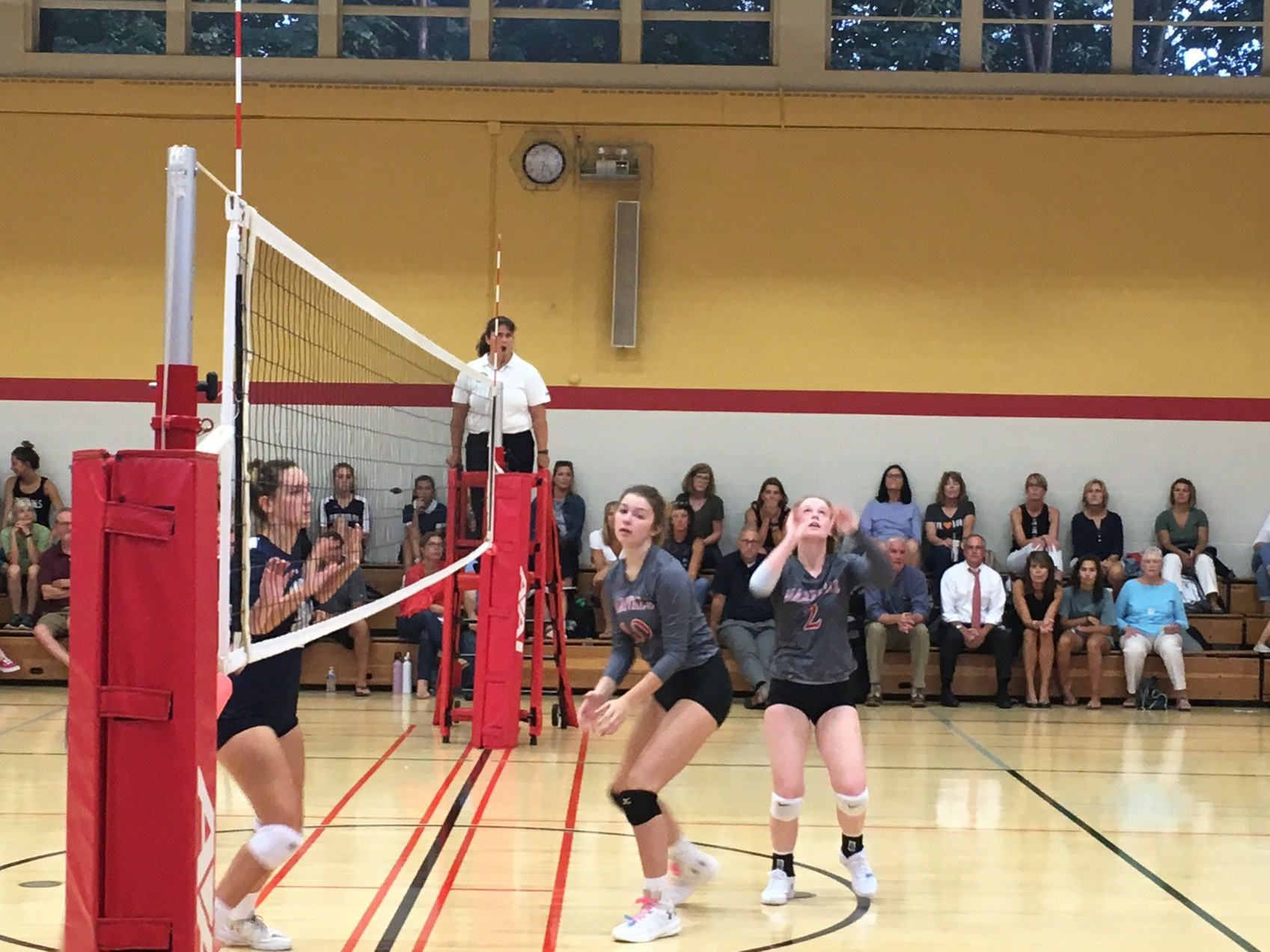 Maryvale sweeps NDP in A Conference volleyball
