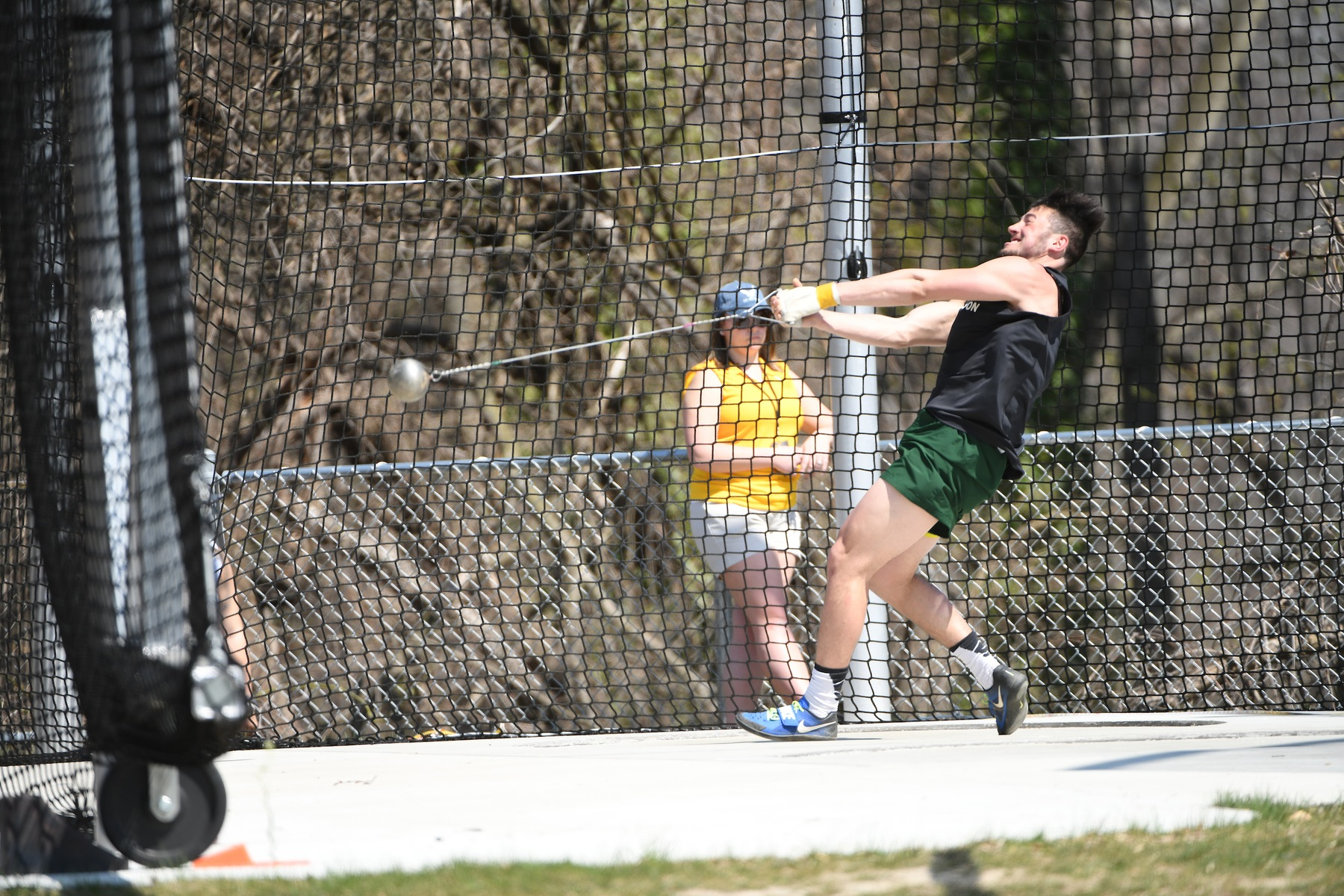 Case Leads Decathlon, Mustangs Set Two School Records on Day One of MAC Championships