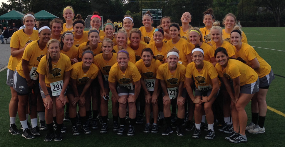 Women's Lacrosse Participates in the 11th Annual Diane Geppi-Aikens Memorial 5K Race
