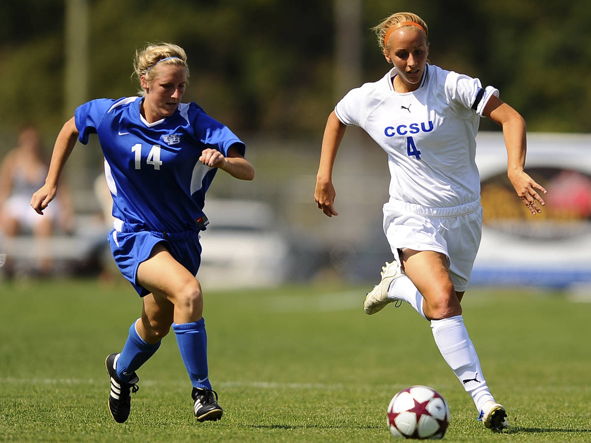 Blue Devils Open Northeast Conference Play with 3-2 Win Over Quinnipiac