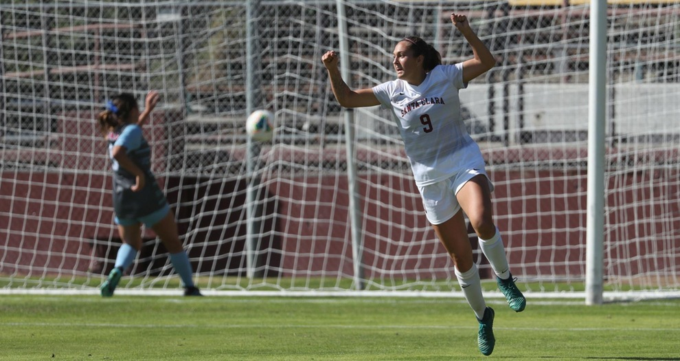 D'Aquila Scores Twice in No. 23 Women's Soccer's 3-0 Win Over LMU