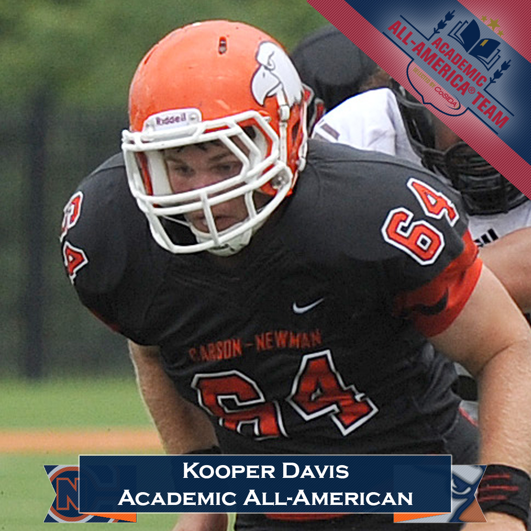 Davis named to CoSIDA Academic All-America second team