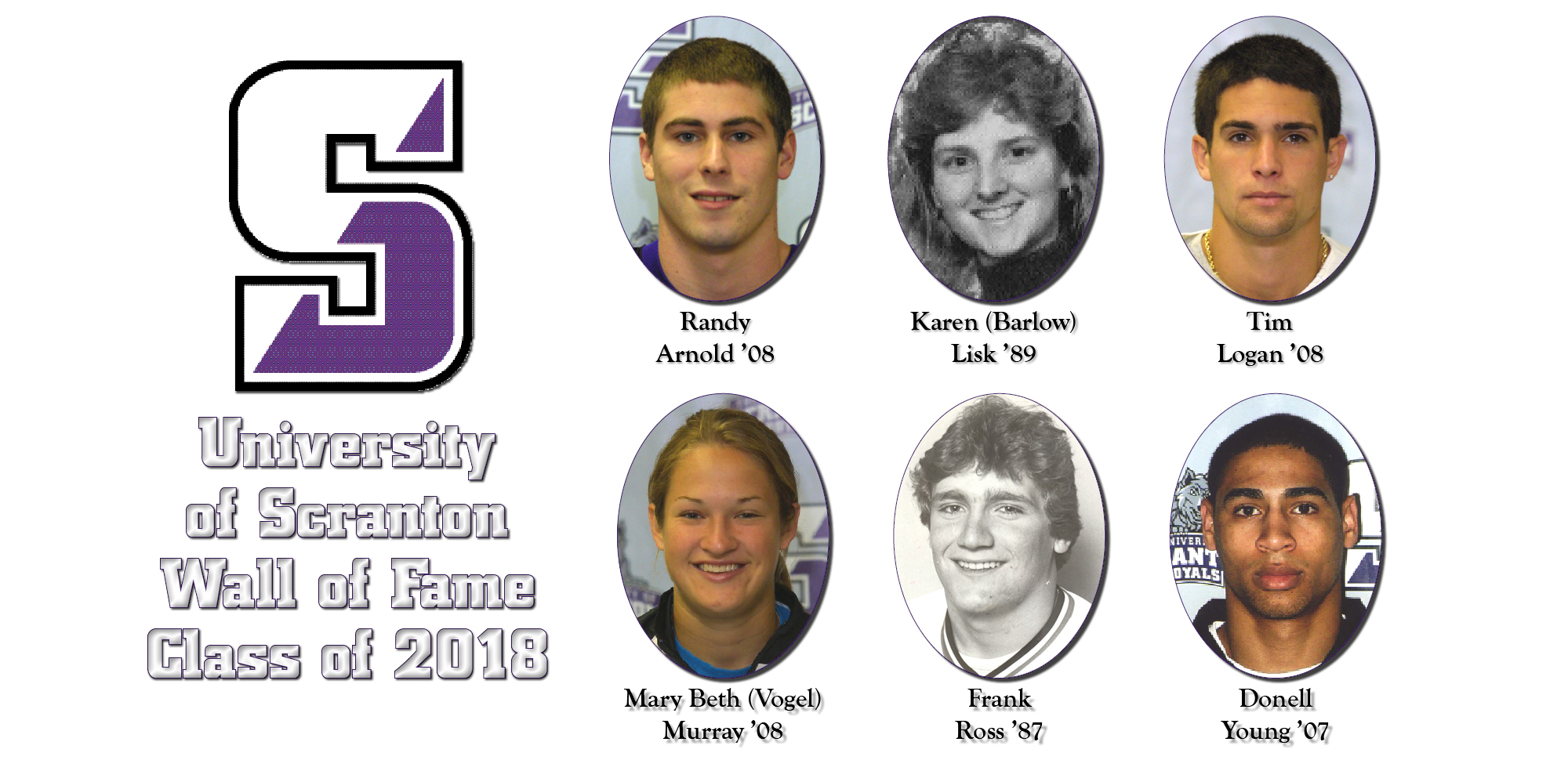 University of Scranton Announces Wall of Fame Class of 2018
