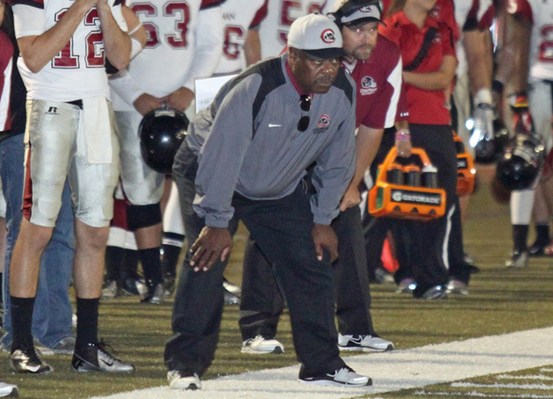 Coach Owens (photo by Larry Newman)